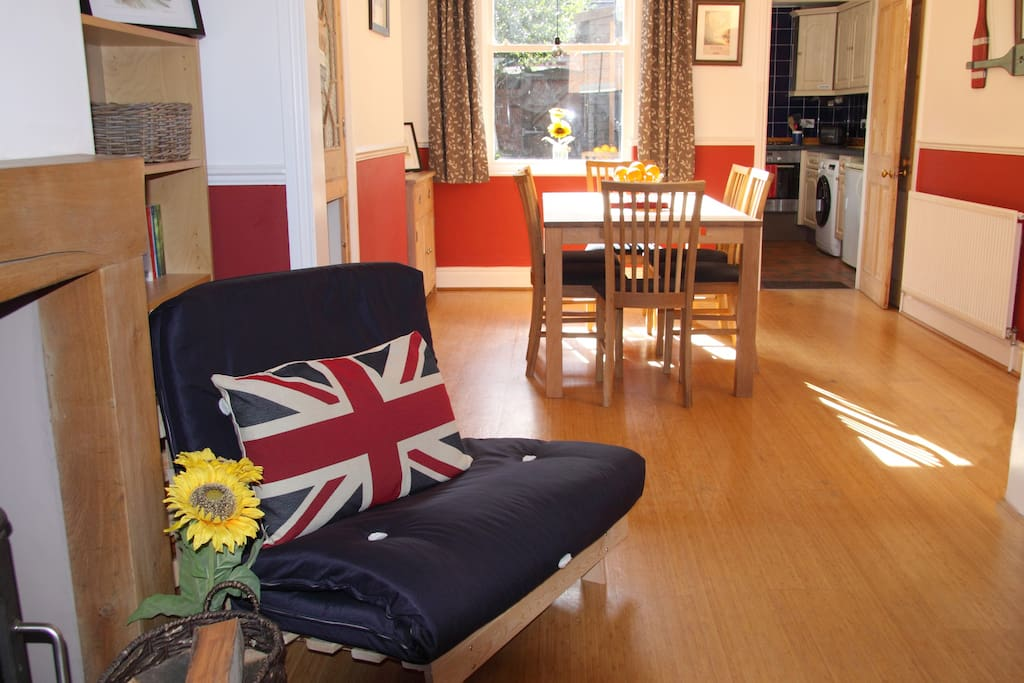 Living room / Dining room - a spacious area for relaxing and socialising.