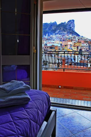 Apartment with view on the mountains