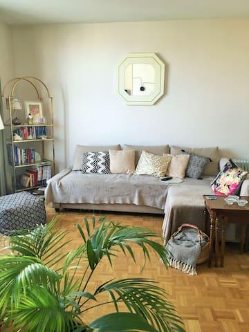 Pré-Saint-Gervais : appartement lumineux avec vue