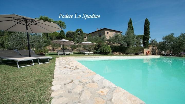 Top Location Villa in San Gimignano Pool A.C. WiFi