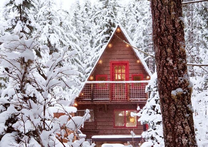 The Pine Marten Cabin at Mt. Rainier