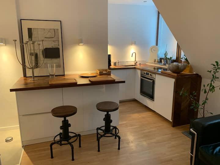 Stilvolles Appartement mit Aircondition und Garage