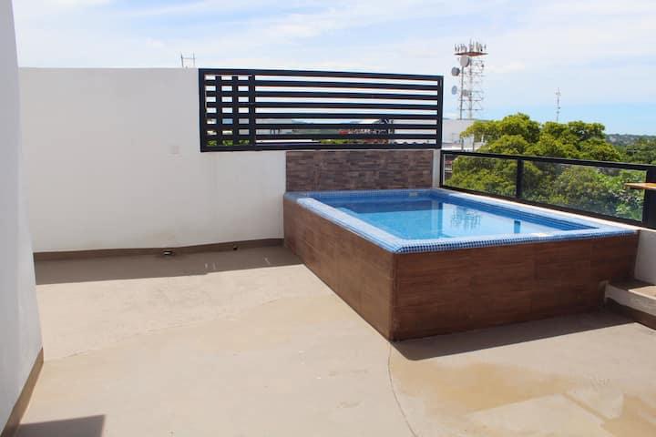 Casa Dos Mares Dep 2 con mini-alberca