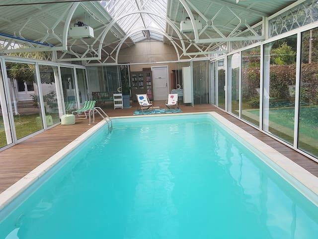 1920's villa with indoor pool