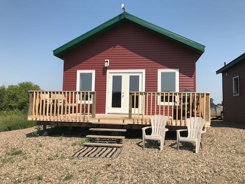 Peaceful Cabins in Central Sask-- EAST Cabin
