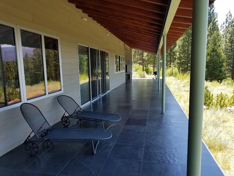Outside Covered Decks