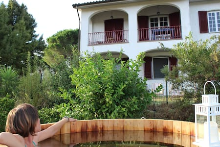 Cozy house with hot tub and big garden near Pisa - Lari - Pis