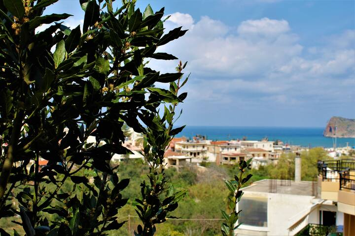 Beautiful & sunny maisonette in Agia Marina - Chania - Casa