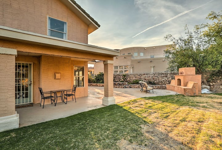 Lavish El Paso Home w/ Mountain Views - Near Golf!