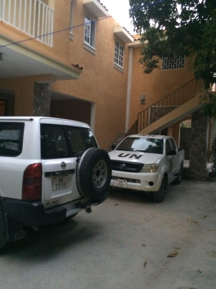 Private Standard apartment in Tabarre, wifi,tv, ac