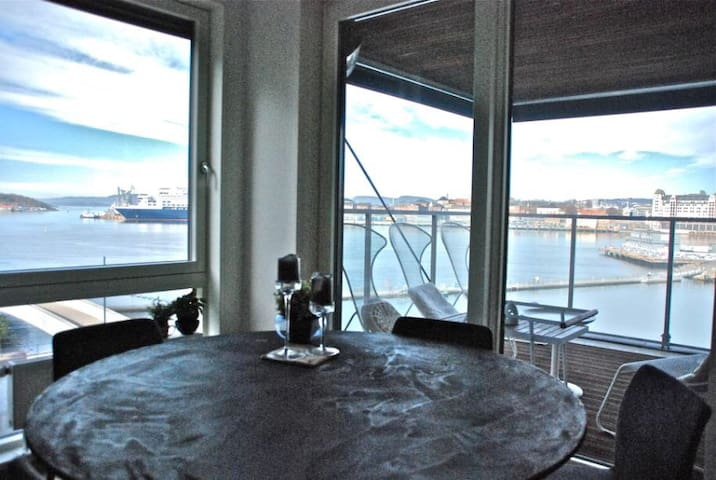 Luxury large apartment with seaview