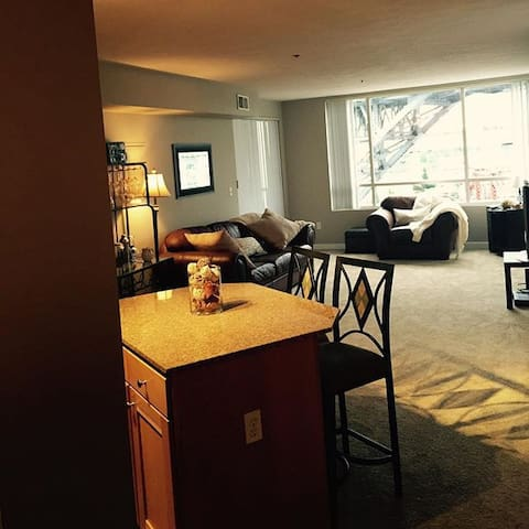 2 bd Apt. Walk to RNC. Free parking - Cleveland - Leilighet
