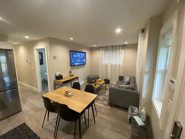 Dining + Living area