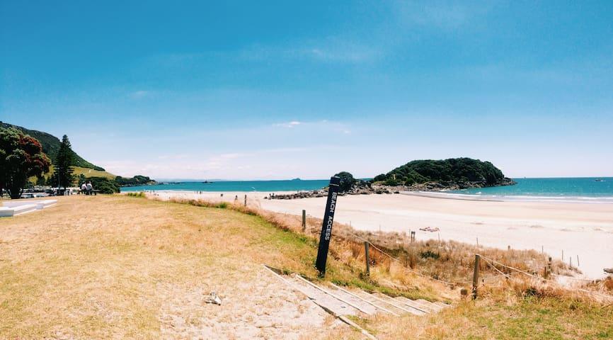 Mount Beach Villa - Marine Parade beachfront - Tauranga - Villa