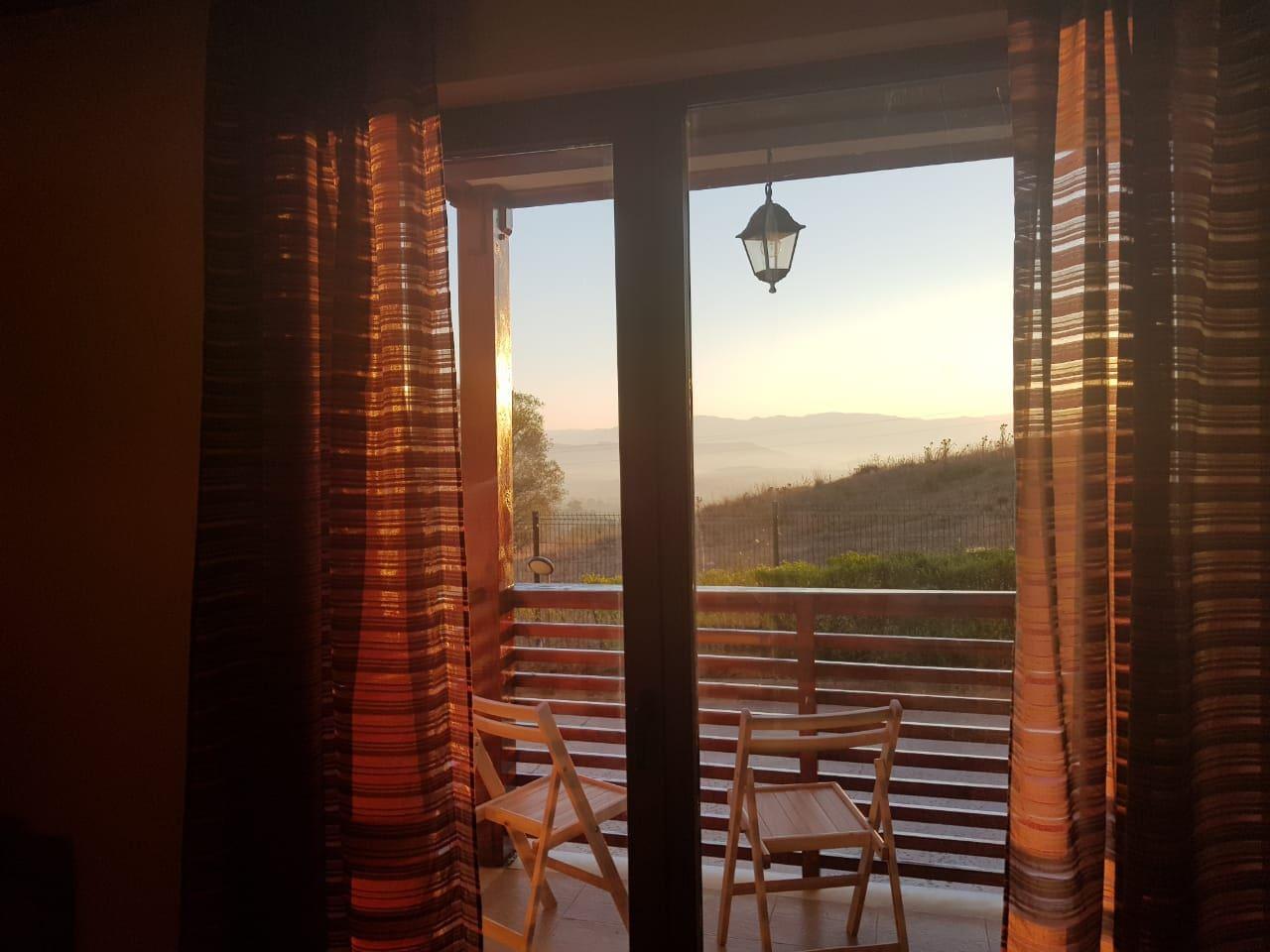 One of the inimitable sunrises