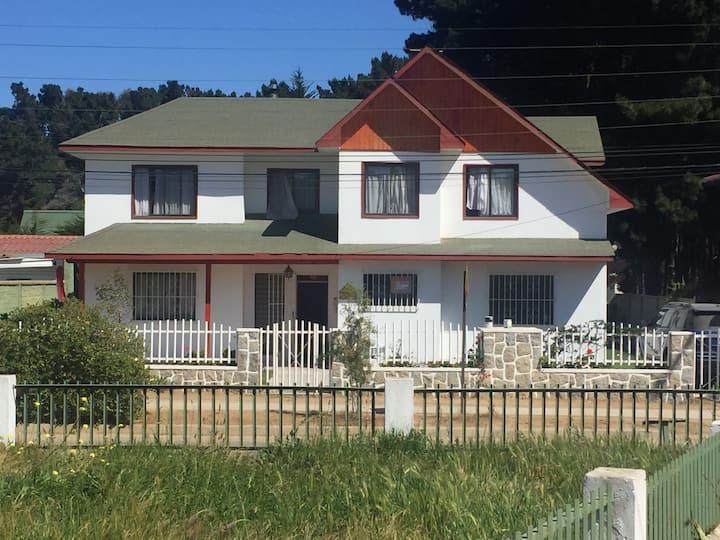 Casa grande, El Canelo, Algarobo