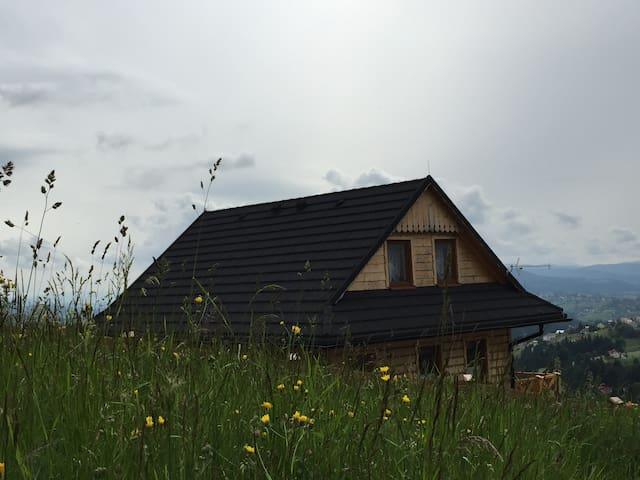 Osada na Ochodzitej - domek (bliźniak) - Koniaków - Chalet