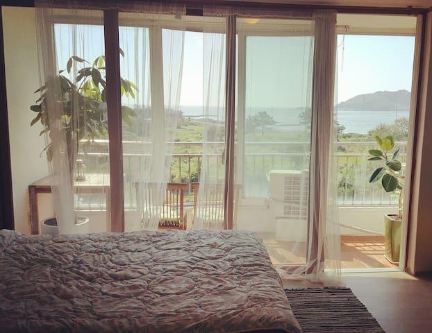 협재 비양도를 마주한 아늑한 독채 2인실 - Hallim-eub, Jeju-si - Apartment