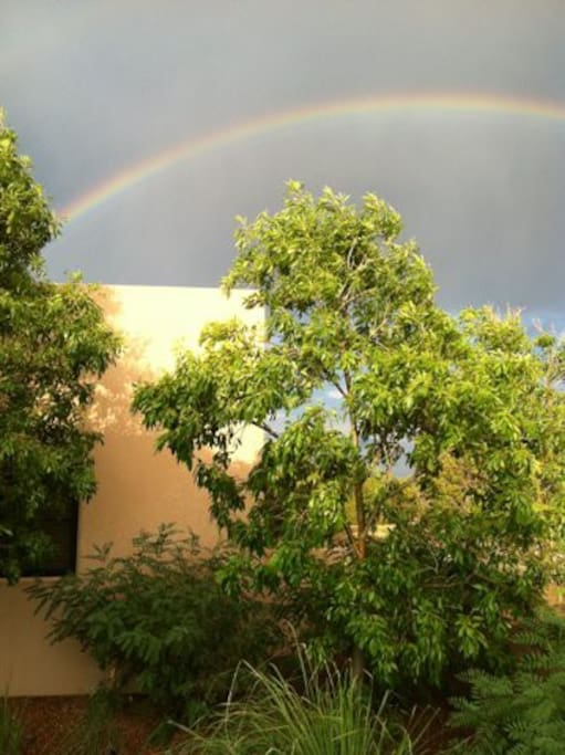 It's the house at the end of the rainbow.