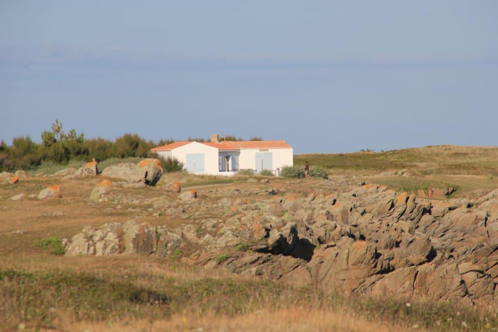 Maison vue ouest
