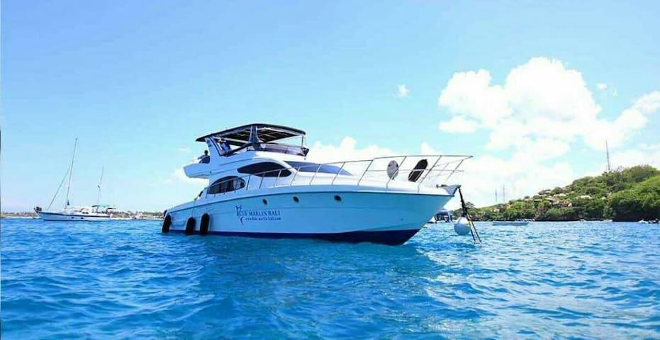 Yacht blue ocean in Bali - badung - Cabin