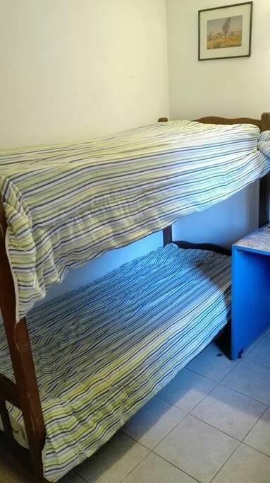 esta es la habitación del huésped