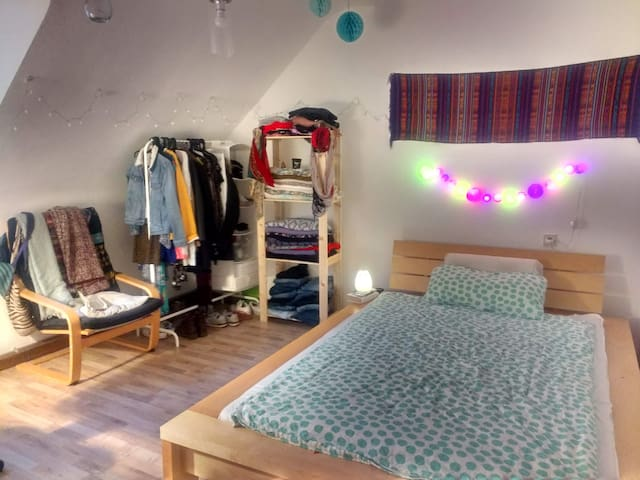 Cozy room in peaceful neighborhood