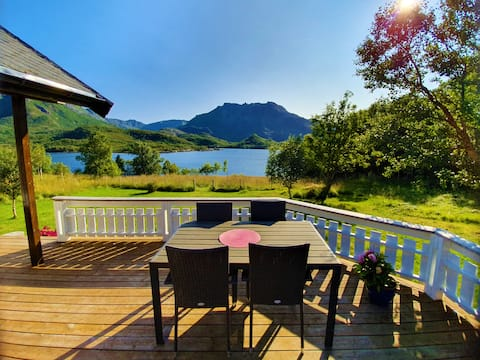 Villa Perle, en hytte med idyllisk beliggenhet :)