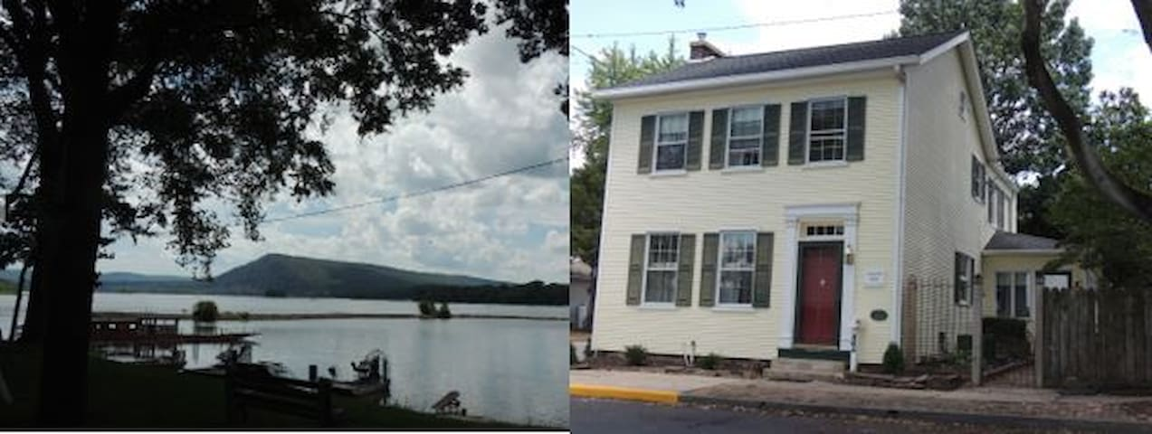Large Room in Historic Home - Beautiful River View - Millersburg - House