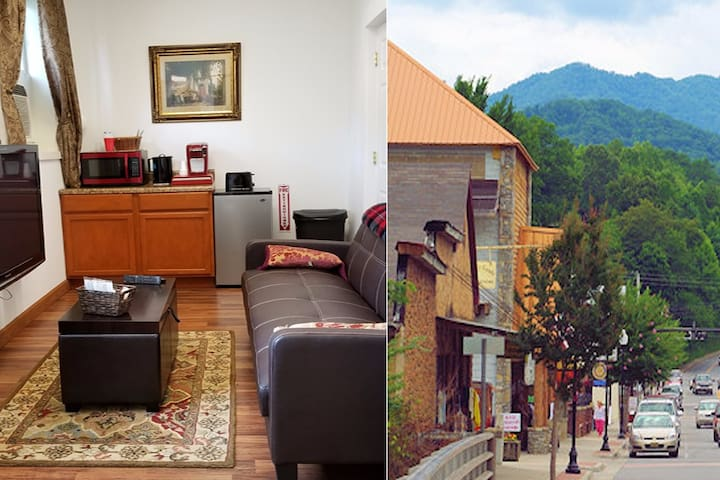 Downtown Bryson City Hideaway Suite - Bryson City - Suite tetamu