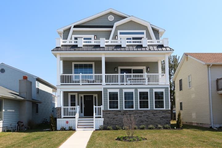 New Construction in the Heart of Brigantine