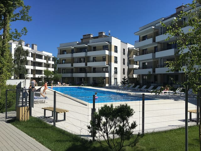 Nowy apartament w Ustroniu Morskim - Ustronie Morskie - Appartement