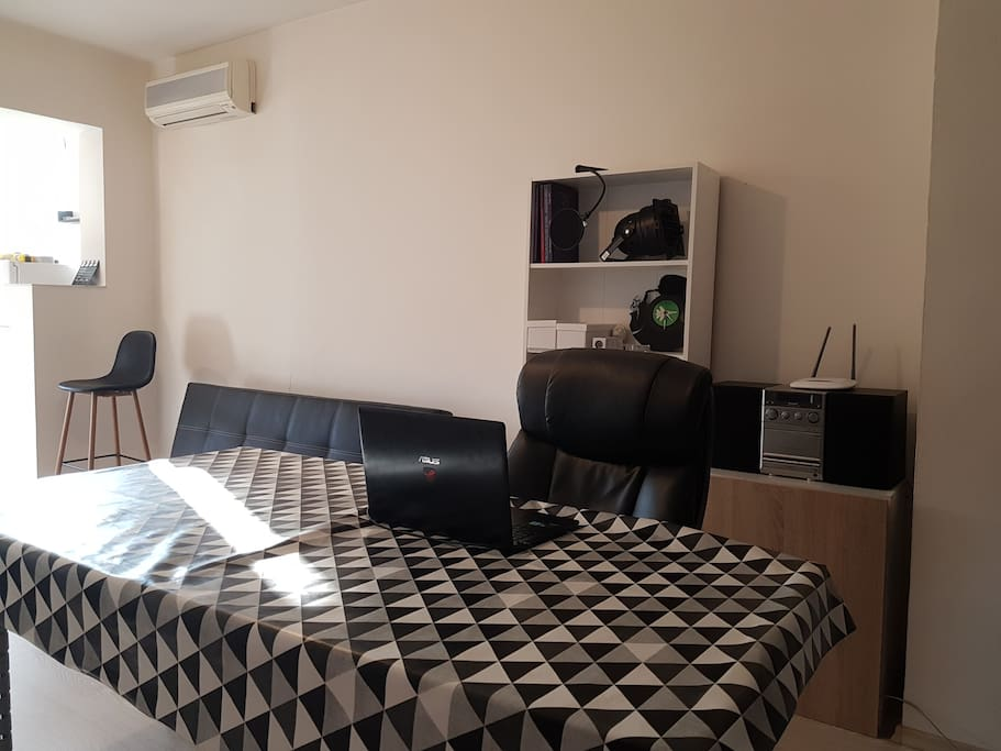 Living Room - Workstation