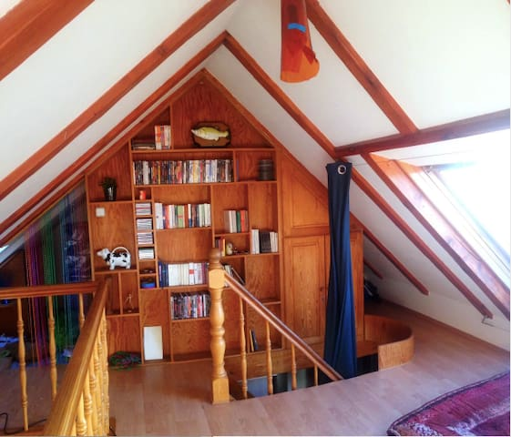 Cozy flat over 2 open floors in Sternschanze
