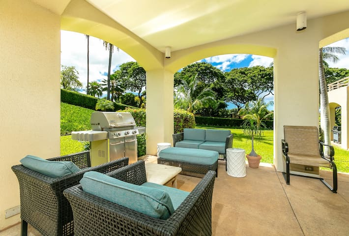 Palms at Wailea  609-Enjoy outdoor cooking with private bbq