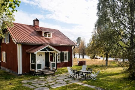 A swedish cottage, a quiet place in the nature.