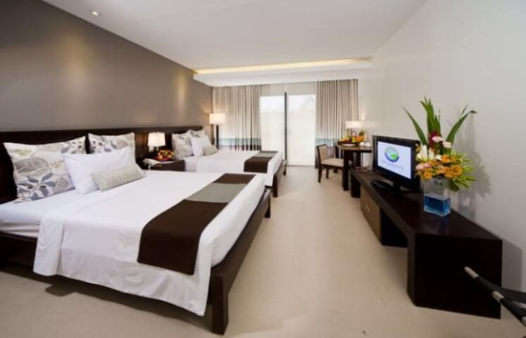 Superior room at Fairways and Bluewater Boracay