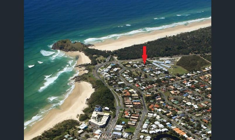 Cabarita headland townhouse(2 bedrooms)