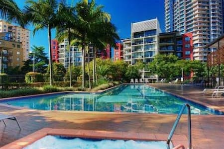 Tropical Oasis in Kangaroo Point - Kangaroo Point - Appartement