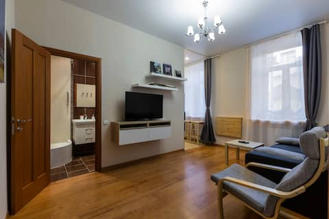 Cozy flat in a center, Registration
