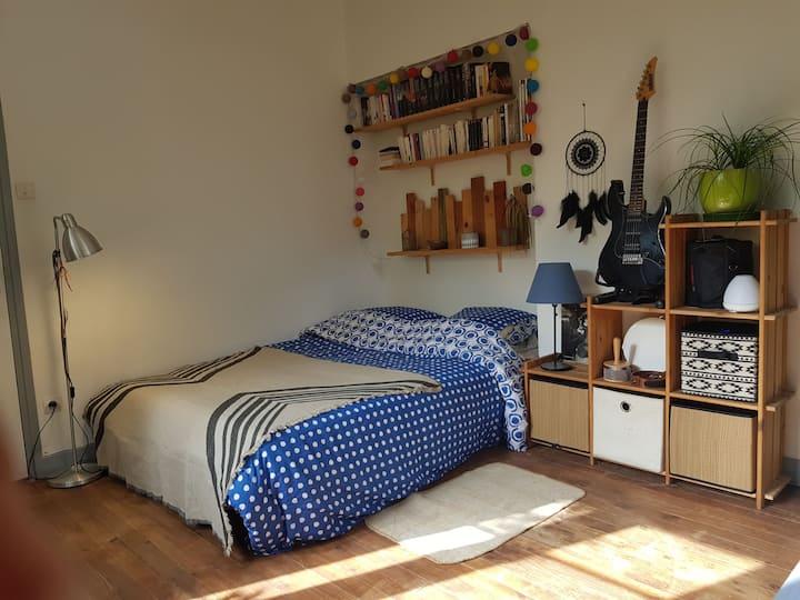 Chambre cosy au pied de la Chartreuse