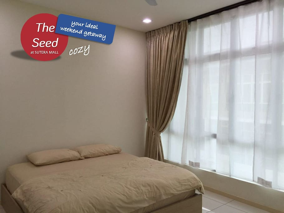 Cozy master bedroom houses for rent in skudai johor malaysia Master bedroom for rent in johor