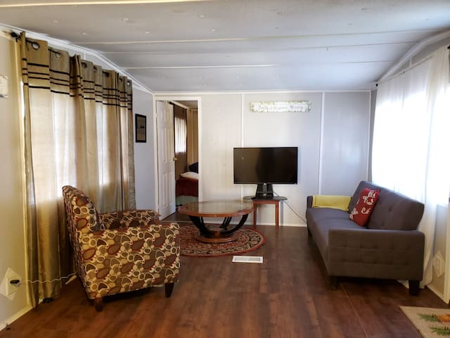 1217 Tulane White Mobile Home for Short Term Stays