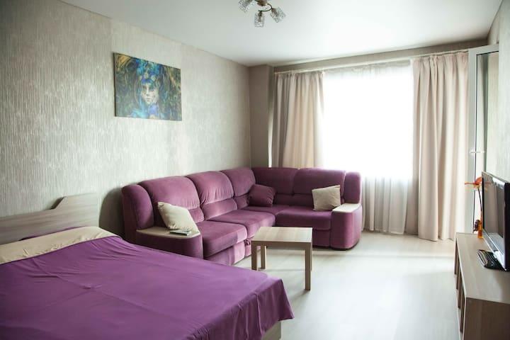 VIP апартаменты на Беленца 6 с видом на Томь
