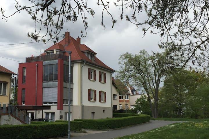 Wohnung am Rande der Altstadt.