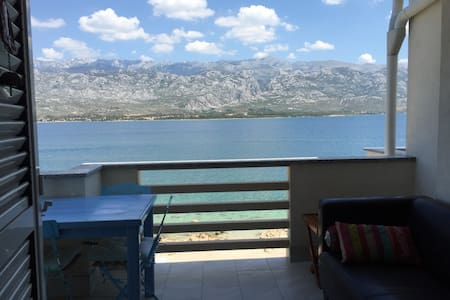 Penthouse Condo with Pool on the Beach - Vinjerac