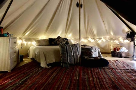This is it,Beach Glamping-Fort Morgan la Cabana II