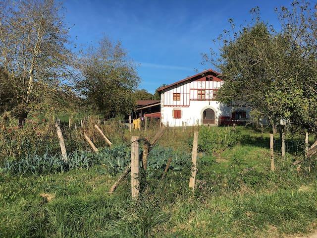 Etxeberria : Gîte à la ferme à Saint Esteben - Hélette - Apartamento