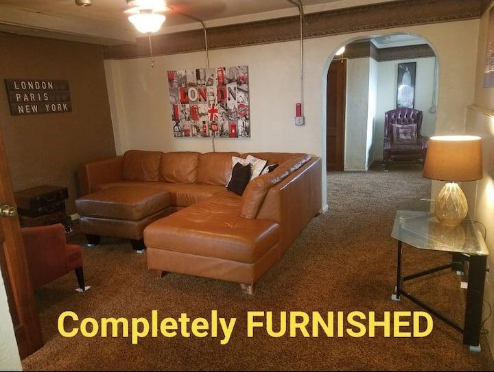 Furnished Garden Studio FLAT 1 Bedroom