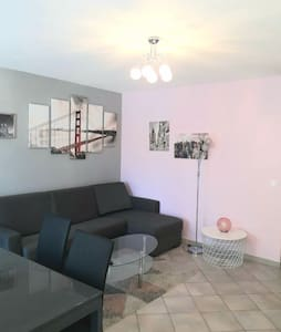 Appartement 2/3 pieces 200m gare, proche paris